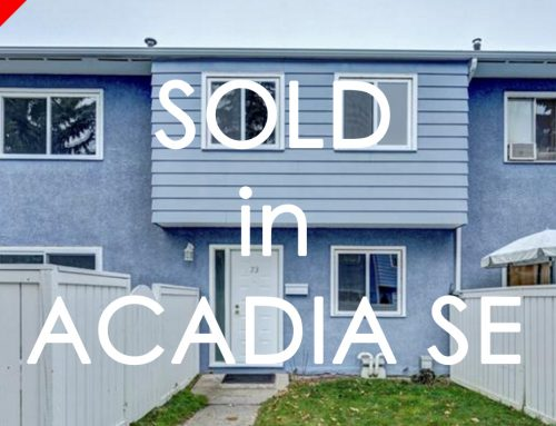 CONGRATS TO OUR BUYER ON THE PURCHASE! SOLD IN ACADIA!